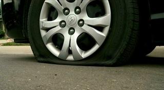 Deputies investigating slashed tires in Berthoud