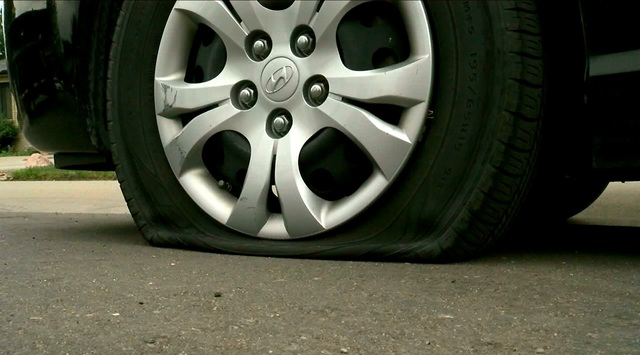 More Than A Dozen Cars Have Tires Slashed In Early Tuesday Vandalism