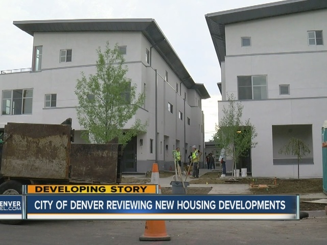 City of Denver reviewing garden type housing developments