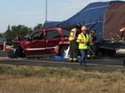 Driver dies in I-25 crash at Harmony Road