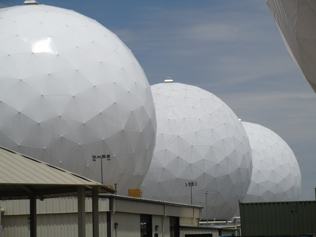 Inside Buckley Air Force Bases' radomes