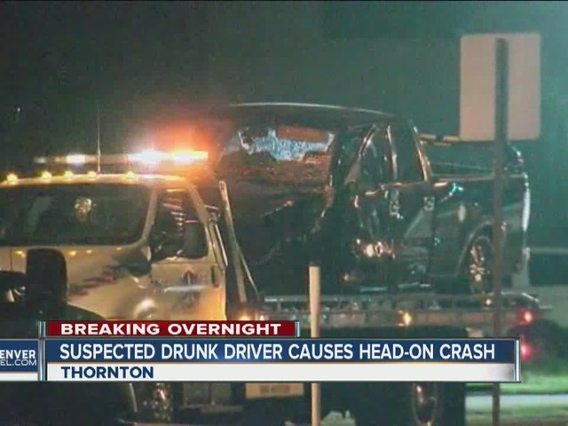 Wrong-way driver blamed for head-on crash