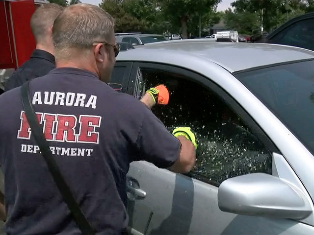 Little girl accidentally locked inside hot car in Aurora