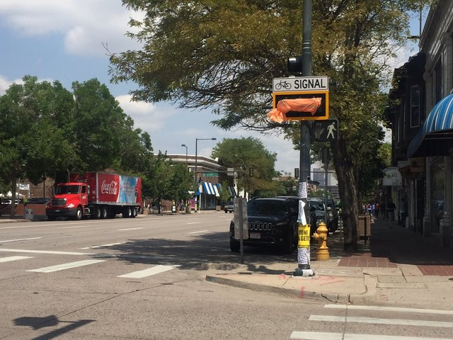 Mixed reactions for new bike lane on South Broadway