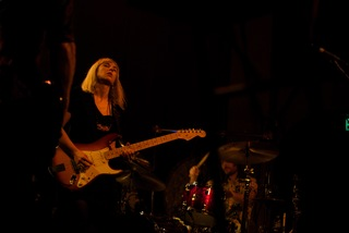 The Joy Formidable play to a rauchous crowd