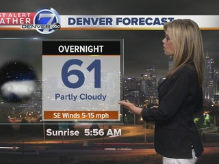 Afternoon thunderstorm chances increase Sunday