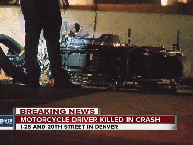 One dead, one critically injured in motorcycle crash on I-25 at 20th