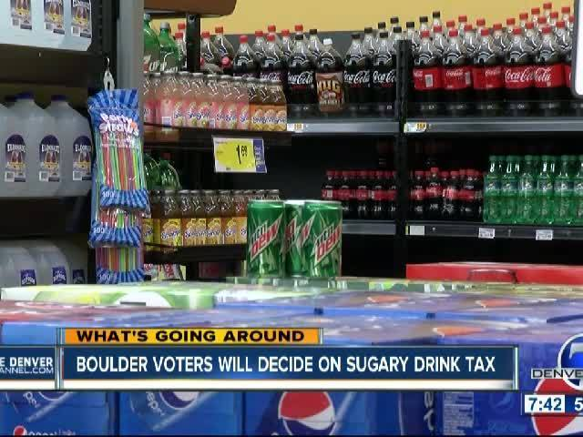 Boulder Voters Will Decide on Sugary Drink Tax