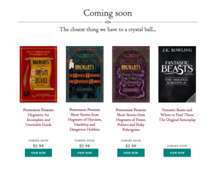 Rowling: More Harry Potter books are on the way