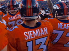 Sore shoulder keeps Siemian from throwing