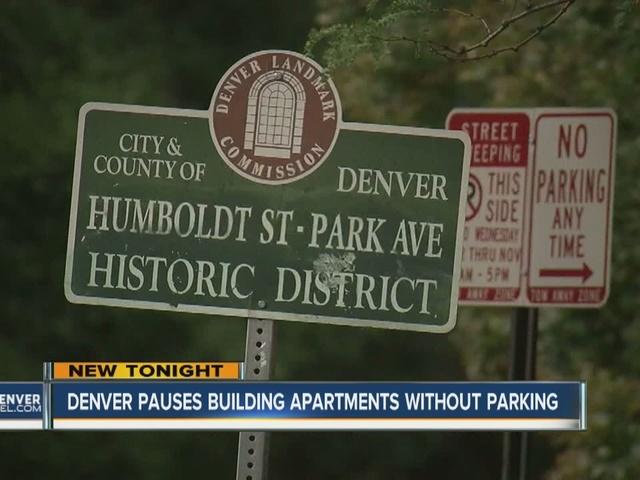 Denver City Council puts moratorium on building projects with no parking
