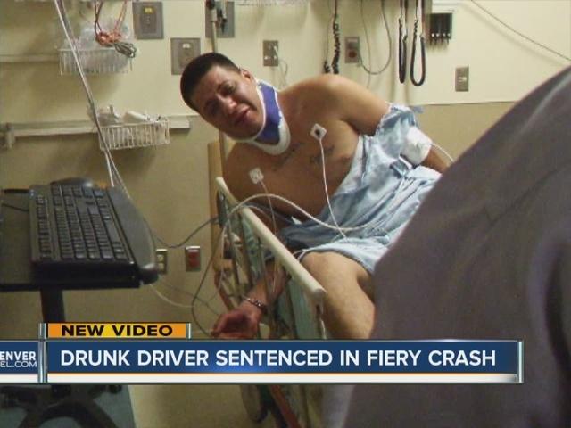 Drunk driver sentenced in fiery crash