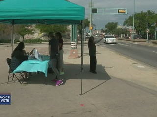 Secretary of state reaches out to homeless