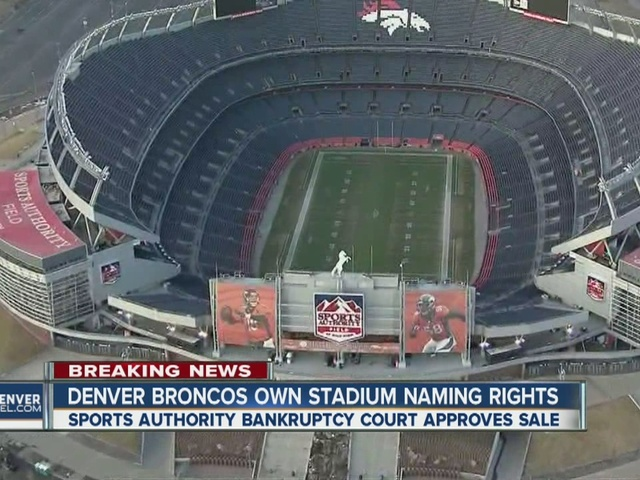 Denver Broncos awarded Mile High Stadium naming rights during Sports…