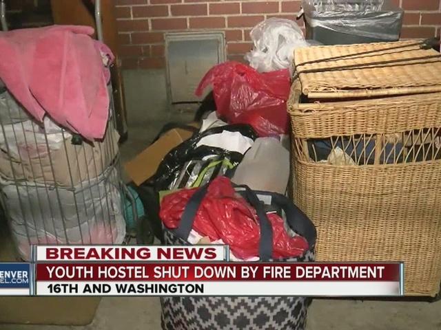 Denver hostel evacuated for fire code violations