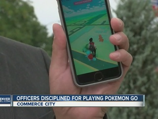 Officers disciplined for playing Pokemon Go