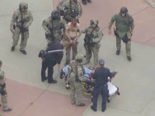 Suspect found after all-night search in Boulder