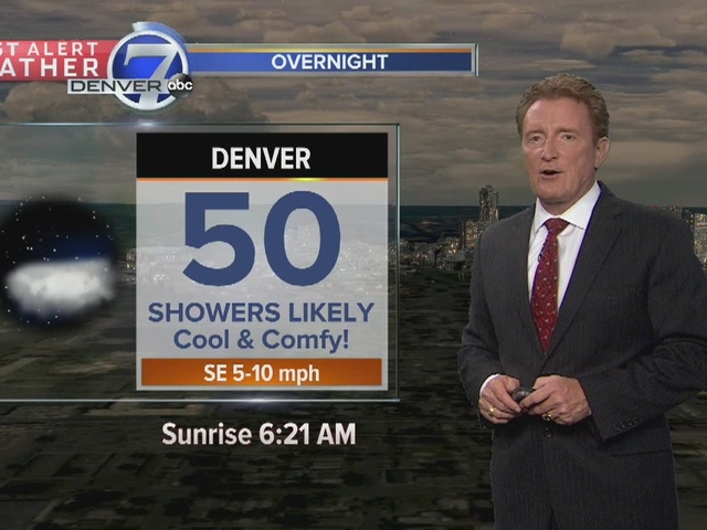 Cool air and rain settle in for a few days
