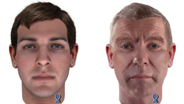 Aurora police released DNA-generated composite