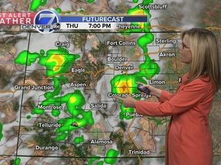 Fall-like weather across Colorado