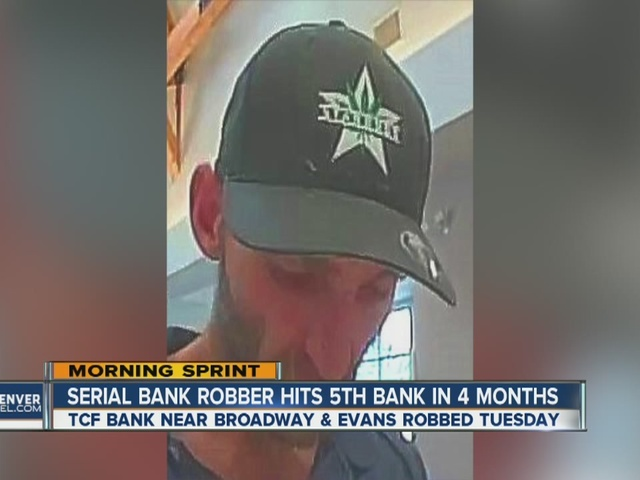 Serial bank robber