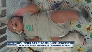 Family: Baby's leg broken in hospital NICU