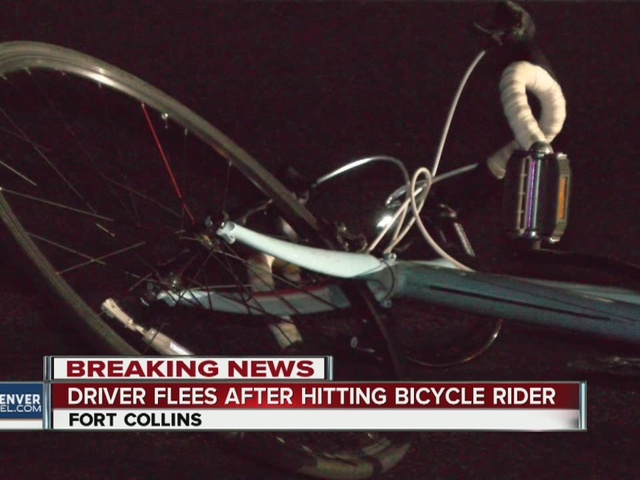 Bicyclist hit in Fort Collins