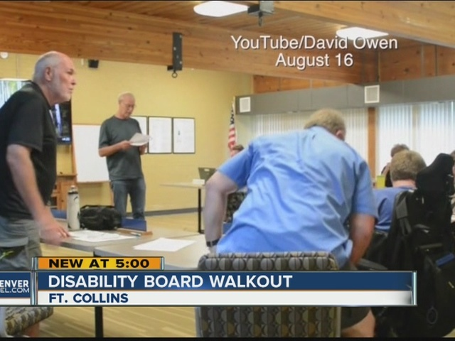 Disability Board members walk out