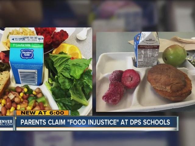 Parents claim 'food injustice' at Denver Public Schools