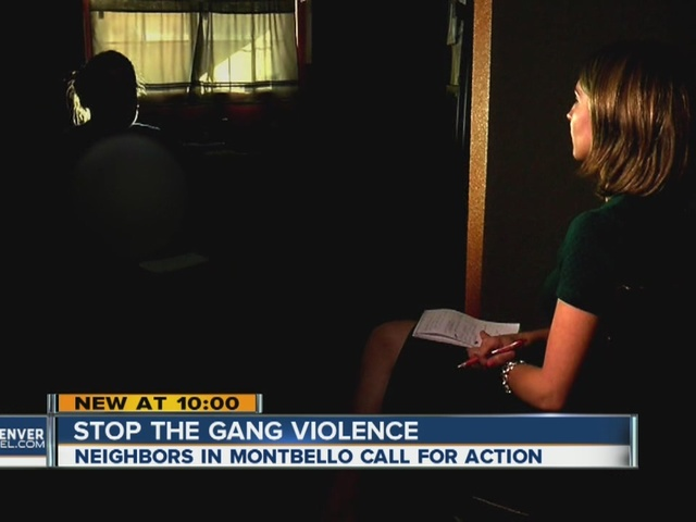 Montbello neighbors want gang violence to stop