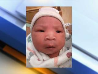 Missing newborn found safe, will stay with dad