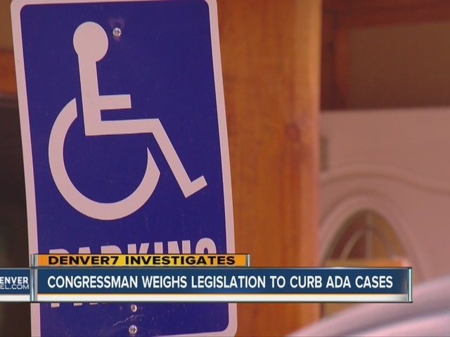 Colo. lawmaker hopes legislation will stem flood of ADA lawsuits