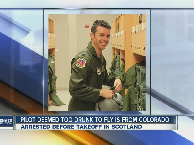 Colorado native, pilot, arrested on suspected intoxication charges