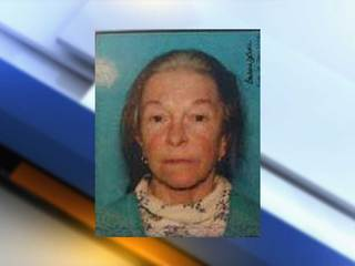 Missing 66-year-old woman has dementia
