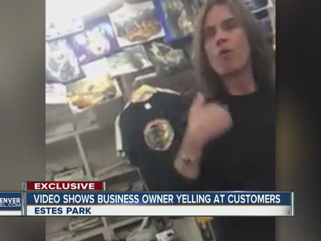 Viral video shows Estes Park shop owner go off on what he calls…
