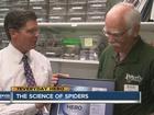 7Everyday Hero feeds tarantulas as a volunteer