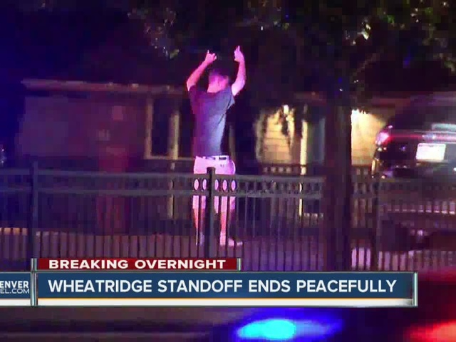Wheat Ridge standoff ends peacefully