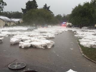 Storm floods parts of Colorado Springs
