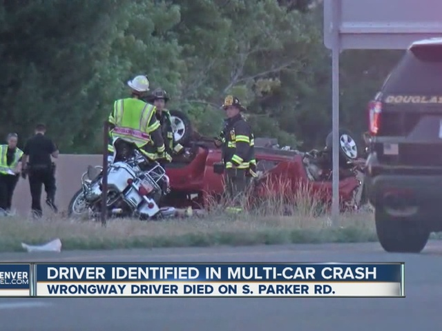 Driver ID'd in multi-car crash
