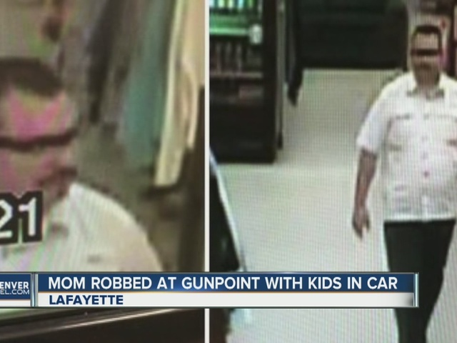 Lafayette mother robbed at gunpoint while kids are in car