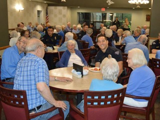 Arvada seniors celebrate local officers