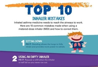 Which Inhaler Mistakes Are You Making?