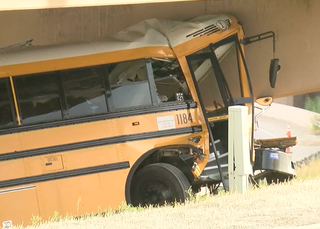 Police release video, reports on DIA bus crash