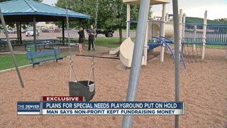 Funding dispute stalls special needs playground