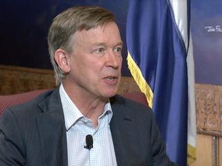 Hickenlooper sets goals for split legislature