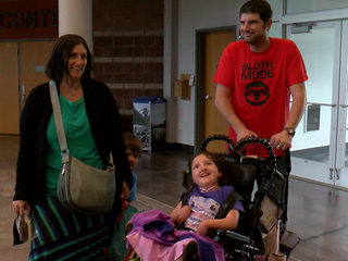 Parents of kids with disabilities get night out