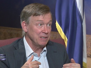 Hickenlooper talks about past, future career