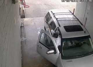 Car wash gang shooting caught on video