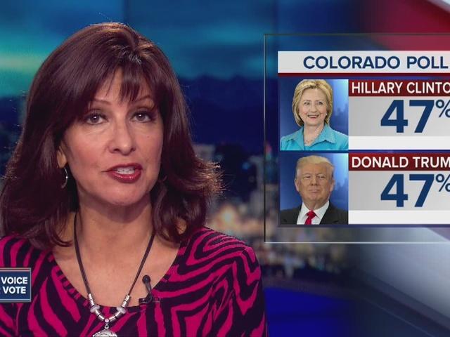 Poll shows Trump, Clinton tied in Colorado