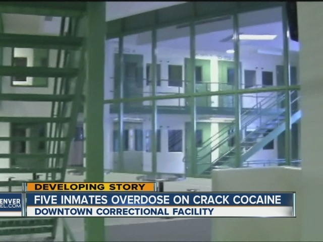 5 inmates treated for possible drug overdose